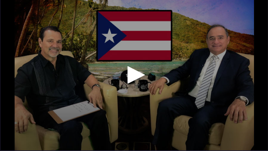 Charlie Rodriguez, Shadow US Congressman of Puerto Rico / Chair, Democratic Party of Puerto Rico